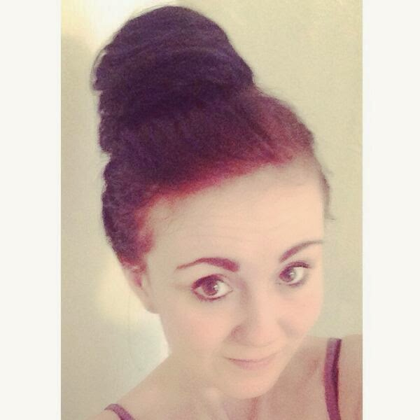 beauty works beehive messy bun
