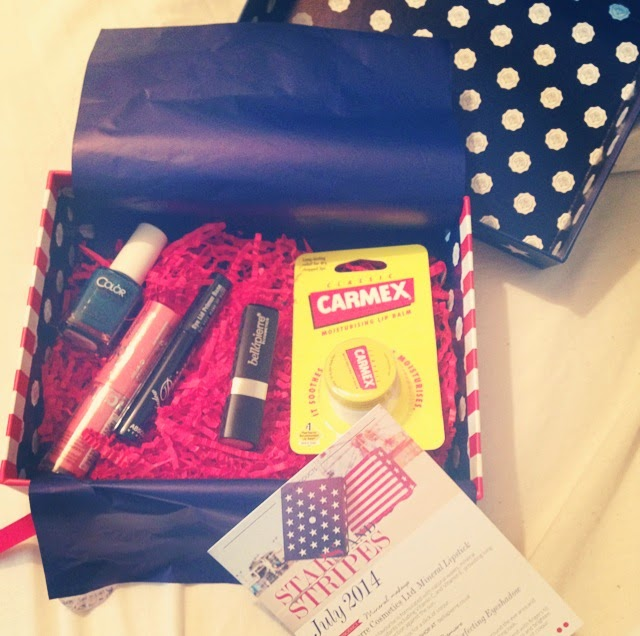 july 2014 glossybox review