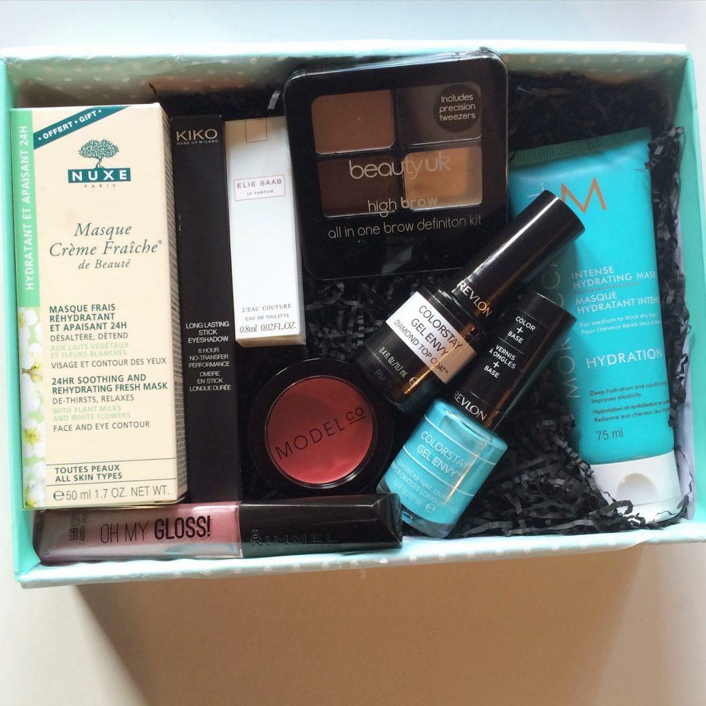 latest in beauty box